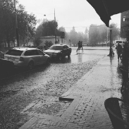 A bit of the world famous Dutch weather