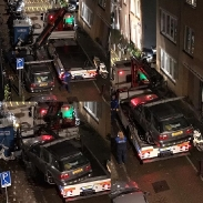 Don't park in handicapped parking in Amsterdam