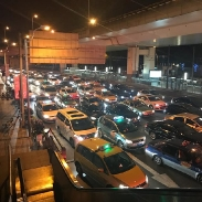 Traffic jams at 00:30 on a Tuesday? Shanghai has it all!