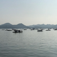 The absolutely beautiful West Lake in Hangzhou