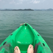Kayaked to the nearest island