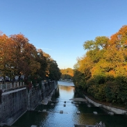 Can report that it is also  a sunny Autumn in München
