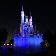 It does look quite magical after dark