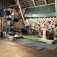 Band in a barn is the best kind of band