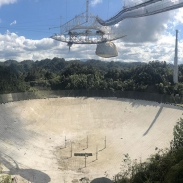 Got to take a look at a huge dish