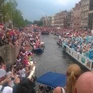 Tukmēr Amsterdamā #canalpride